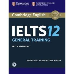 Cambridge English IELTS 12 General Training Self Study Pack