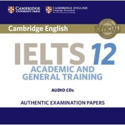 Cambridge English IELTS 12 Academic & General Training CD Class (2)