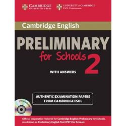 Cambridge Preliminary English Test (PET) For Schools 2 Self Study Pack