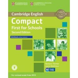 Compact First for Schools Workbook (+ ON LINE AUDIO) 2nd Edition