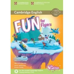 Fun for Flyers Student's book (+audio & Online Activities) 2018 4th Ed.