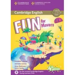 Fun for Movers Student's book (+audio & Online Activities) 2018 4th Ed.