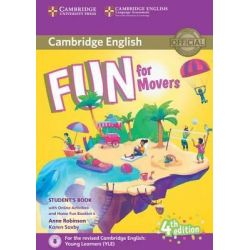 Fun for Movers Student's book (+ Home fun booklet & Online Act.) 2018 4th Ed.