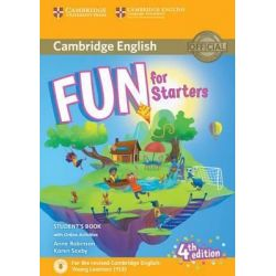 Fun for Starters Student's book (+audio & Online Activities) 2018 4th Ed.