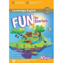 Fun for Starters Student's book (+ Home fun booklet & Online Act.) 2018 4th Ed.
