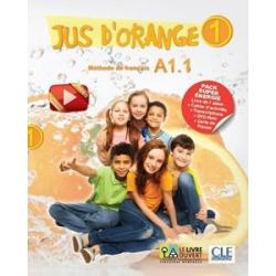Jus D Orange 1 (A1.1) Super Pack Energie (Eleve + Cahier + DVD)