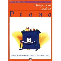 Alfred's Basic Piano Library-Theory Book Level 1A