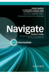 Navigate B1+ Teacher's book and Teacher's Resource disc pack
