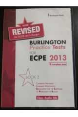 Revised Burlington Practice Tests for ECPE 2013 Book 2 class audio CD 's