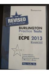 BURLINGTON PRACTICE TESTS FOR ECPE 2013 BOOK 1 CDS REVISED
