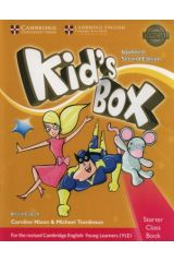 Kid's Box Starter Student's book (+ CD-Rom) 2nd Edition
