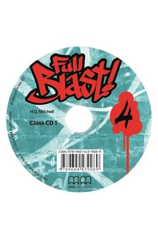 Full Blast 4 audio Class Cds