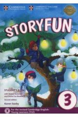 Storyfun 3 Student's book + Home fun booklet 3 & Online Activities (2nd Ed. 2018 Movers)