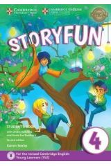 Storyfun 4 Student's book + Home fun booklet 4 & Online Activities (2nd Ed. 2018 Movers)