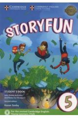 Storyfun 5 Student's book + Home fun booklet 5 & Online Activities (2nd Ed. 2018 Flyers)
