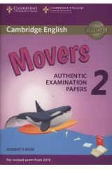 Cambridge English Movers 2 Student's book Revised 2018