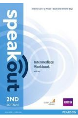 Speak Out Intermediate Workbook with KEY (+DVD) 2nd Edition