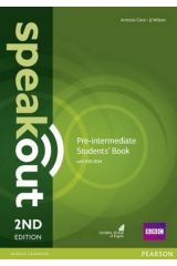 Speak Out Pre Intermediate Student's book (+DVD) 2nd Edition