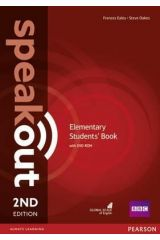 Speak Out Elementary Student's book (+DVD) 2nd edition