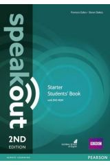 Speak Out Starter Student's book (+DVD) 2nd edition