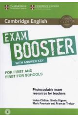 Cambridge English Exam Booster first + first for schools with Answer KEY (+ Audio)
