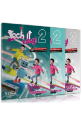 Tech it easy 2 Πακέτο με Ibook + Audio CD Grammar songs