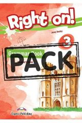 Right On 3 Grammar Book Student's (with Digibooks App)