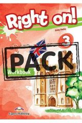 Right On 3 Workbook (with Digibooks App)