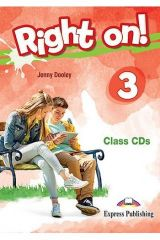 Right On 3 Class CDs (set of 3)