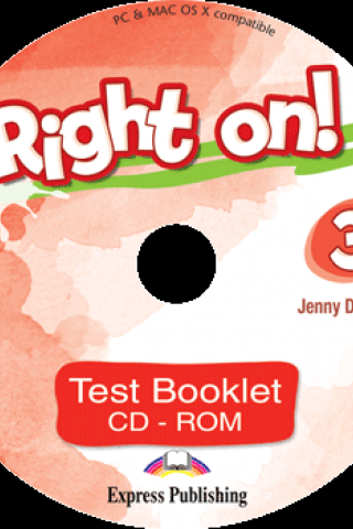 Right On 3 Test Booklet CD-ROM