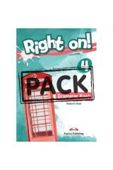 Right On 4 Grammar Book (with Digibooks App)
