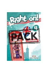 Right On 4 Workbook (with Digibooks App)