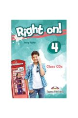 Right On 4 Class CDs (set of 3)