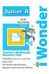iWonder Junior A Teacher's Multimedia Resource Pack (PAL - set of 4)