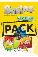 Smiles Pre Junior Pupil's Book (+ Alphabet Book+ multi-ROM + ieBook+ Let's celebrate! 1)