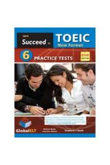 Succeed in TOEIC 6 practice tests self study 2018