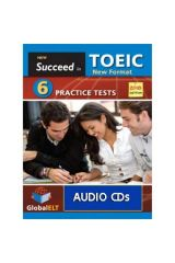 Succeed in TOEIC 6 practice tests audio cds 2018