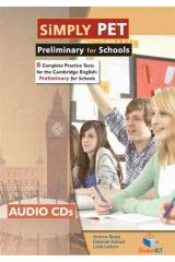 SIMPLY PET (PRELIMINARY for SCHOOLS) Audio Cds