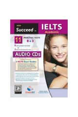Succeed in IELTS Academic 11 (8+3) Practice Tests Cds