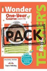 iWonder Junior A+B (One Year Course) Teacher's Book (with Posters)