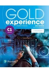 Gold Experience C1 Student's book (+Online Practice) 2nd edition