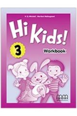 Hi Kids 3 Workbook British edition