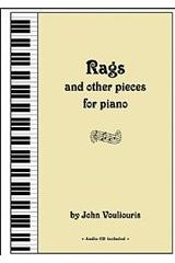 Rags and other pieces for piano