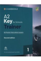 Cambridge A2 KEY for Schools 1 Trainer for Revised Exams from 2020 (+ Downloadable Audio)