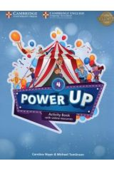 Power Up 4 Activity book (+Online Resources)