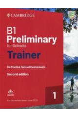 Cambridge B1 Preliminary for Schools 1 Trainer for Revised Exams from 2020 (+ Downloadable Audio)