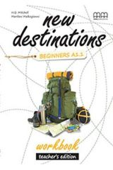 New Destinations Beginners A1.1 Workbook Teacher's edition