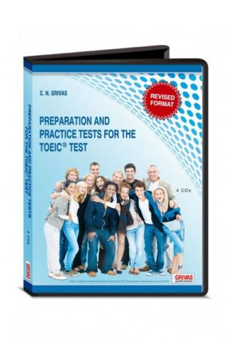 New TOEIC Preparation & Practice Tests AUDIO CDs (4)