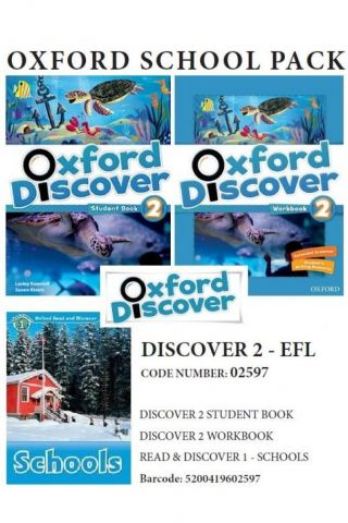 Oxford Discover 2 Pack