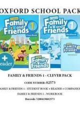 Family and Friends 1 Clever Pack - 02573